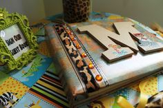 Personalized Guest Book for Safari Themed Baby Shower created and hosted by Miss Sassy Party Pro, Oakland CA
