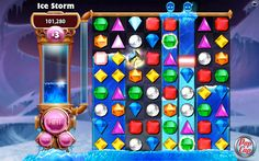 Bejeweled Games - Play for Free Match 3 Games, Ice Storm, Facebook Support, Little Games, Poker Games, Game Ui, Clash Of Clans, Free Website, Free Games