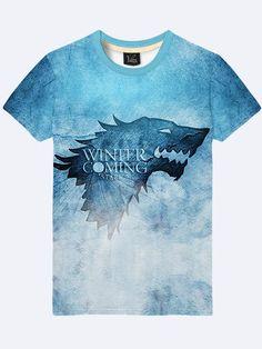 hot sale online 58f13 eca6c 2017 Game of Thrones  WINTER IS COMING Direwolf