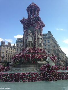 Carte Postale - Lyon, festival mondial de la Rose