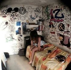 find this pin and more on bedroom ideas - Emo Bedroom Designs