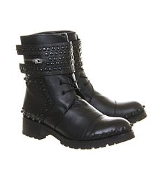 Friis & Co Zooe Boot Black Leather - Ankle Boots