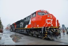 RailPictures.Net Photo: CN 3046 Canadian National Railway GE ET44AC at Montreal, Quebec, Canada by Michael Berry