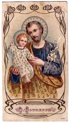 Feast of St Joseph  March 19