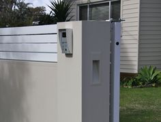 Letterboxes and Lighting - Modular Walls   boundary walls   front fences   feature walls   estate walls   DIY walls   Australia Wide
