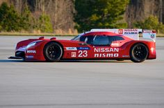Nissan has introduced an unconventional LMP1 race car that is front-wheel-drive.  http://rescars.com/nissan-and-nismos-interesting-new-lmp1-car/