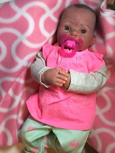 A playdoll quality reborn I made from a 'boo-boo'/'mistake' doll. I gave to a friend's grandchild.