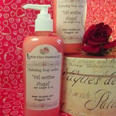 """Val-entine Angel"" Hydrating Body Lotion"