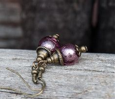 gabi111 / Zamrznuté fialky v bronze