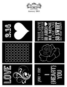 """January 2013 Free Download 8.5"""" x 11"""""""