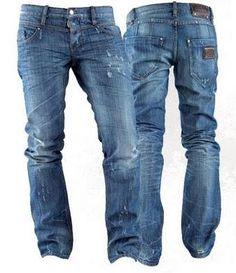 Top Quality Slim Pants Jeans Men Brand Straight Pants Jeans ...