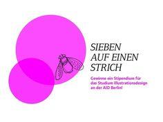 Die AID Berlin lobt ein Vollstipendium für den Studiengang Illustrationsdesign aus!