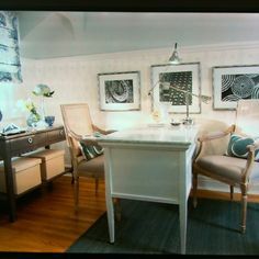 Desk idea, design by Sarah Richardson