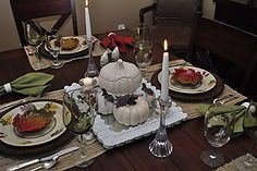 white thanksgiving tablescape, seasonal holiday d cor, thanksgiving decorations, Creating an elegant table for your Thanksgiving guests does not have to break the bank