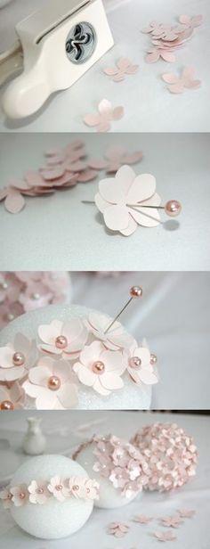 DIY esfera con flores para decorar primera comunión | Decoración 2.0                                                                                                                                                      Más