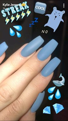 Nails on point #kyliejennernails