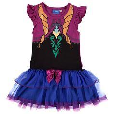 Girls Disney Frozen Anna Tutu Dress