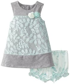 Pippa & Julie Baby-Girls Infant Lacey... (bestseller)