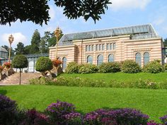Wilhelma, zoo and botanical garden in Stuttgart