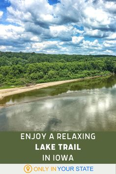 Looking for a scenic, peaceful hike? Head to this beautiful Iowa state park. They've got a loop trail that's short, easy, and beginner-friendly! Places To Travel, Travel Destinations, Places To Go, Iowa State, State Parks, Abandoned Prisons, Park Trails, Hidden Beach, Local Attractions