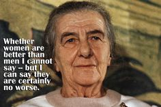 Golda Meir Quotes | 18 Inspirational Quotes to Celebrate International Women's Day
