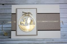 Zauberhaft-handgemacht, Karte mit Ziehtext-Element, Ziehkarte, Framelits Fröhliche Anhänger, Allerbeste Wünsche, Karte, Weihnachten, besondere Kartenformen