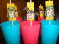 Printable Party El chavo del ocho straw holders on Etsy, $4.99