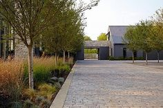 cobbled #driveway pavers || Nashville Residence by Bonadies Architects