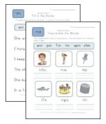 Spring Worksheets Spring Spelling Worksheet