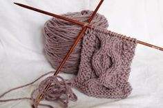 """Does dropping """"live"""" stitches to make cables scare you?! Never fear, Knitting Daily is here to show you how to make stunning cables without cable needles."""