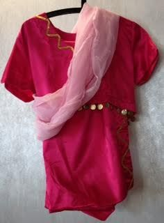 Pink Hindu Dress