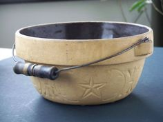 old crock bowl