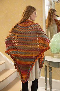 Summer of Love Shawl - Free Crochet Pattern by Carolyn Calderon