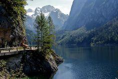 Gosausee   Gosausee mit Dachsteinmassiv, Austria   Astrid Evermann   Flickr