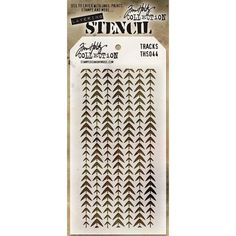 There is no doubt the versatility of stencils make them the latest must have tools Tim Holtz has designed these stencils so that they are a little