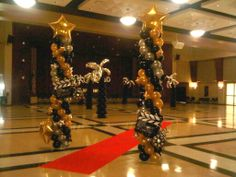 Roll out the red carpet for your Hollywood Themed School Dance or Event!