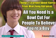 This drama was hilarious! she makes them all question their sexuality! Kdrama Memes, Funny Kpop Memes, Movie Memes, Funny Quotes, Ver Drama, Drama Drama, Korean Drama Funny, Korean Shows, Drama Fever