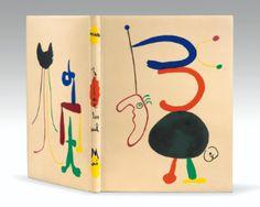 Joan Miró text by Tristan Tzara, Parler Seul, 1948