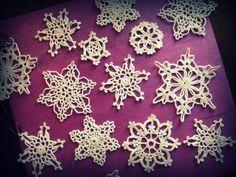 Snowflakes2   by yarn jungle