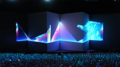 Motorized Video Projection Mapping at Adobe MAX 2014
