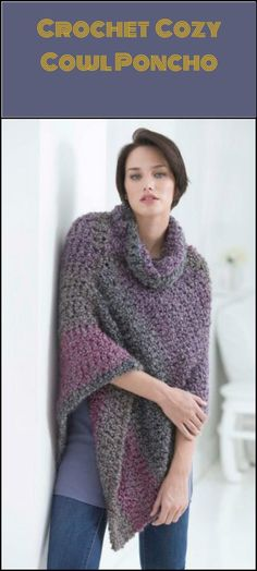 50 Free Crochet Poncho Patterns for All - Page 6 of 9 - DIY & Crafts
