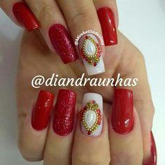 Manicures, Mary, Beauty, Perfect Nails, Pretty Nails, Nice Nails, Nail Design, Nail Jewels, Nail Bling
