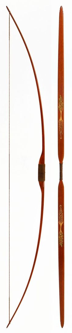 TREE OF LIFE BOW hickory-backed hickory longbow. design copyright Egan&Ives…