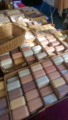 im envious. what a variety of zero waste soaps in Paris. -L