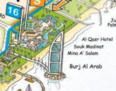 dubai tourist map dubai city tour big bus tours