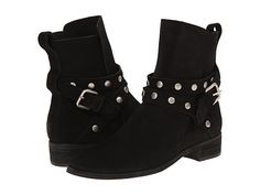 See by Chloe Suede Wrap Bootie with Studs Black - Zappos Couture