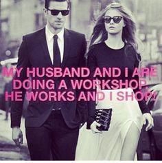 he #works i #shop