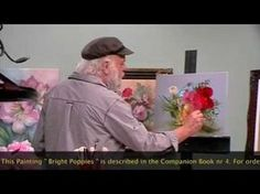 """The Beauty of Oil Painting, Behind the scenes, Episode 7 : """" Bright Poppies """" - YouTube"""