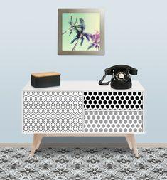 sticker dcoratif tendance pour meuble plus facile poser que le papier peint dcorez vos meubles avec des adhsifs sur mesure