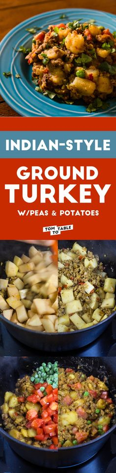 ground turkey with potatoes recipes dishmaps curried ground turkey ...